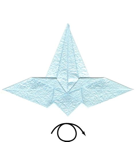 origami flying crane how to make a flying origami crane page 6