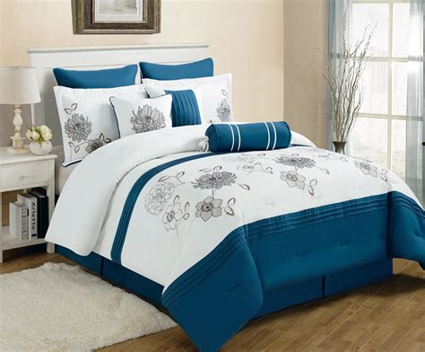 black white and blue comforter sets blue and white bedding sets bed mattress sale