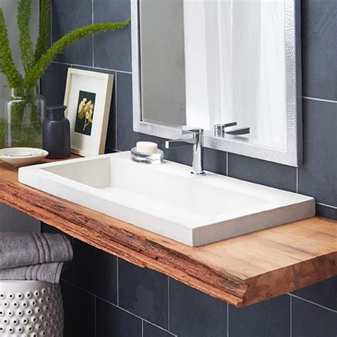 kitchen sink tub trough 3619 nativestone 174 rectangular bathroom sink