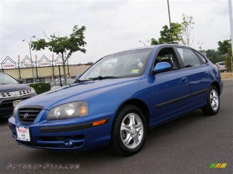 2005 Hyundai Elantra Gt by 2005 Hyundai Elantra Gt Hatchback In Tidal Wave Blue