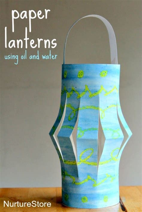 paper o lantern craft paper lanterns ramadan craft nurturestore