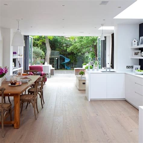 open plan kitchen design light open plan kitchen housetohome co uk