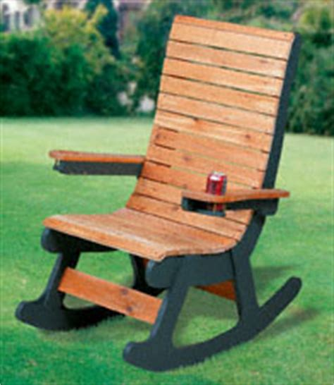 winfield woodworking the winfield collection cedar rocker plan workshop supply