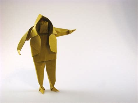 origami person sculptural origami by saadya sternberg book review gilad