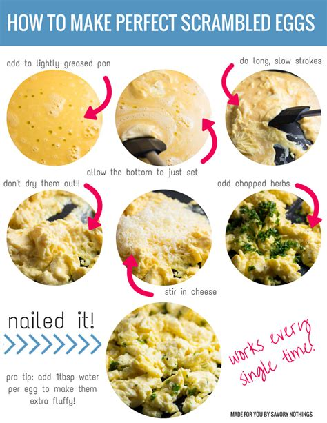 how to make how to make the best scrambled eggs savory nothings
