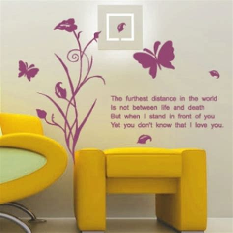 removable stickers for walls vinyl removable plants wall quotes wallpaper wall stickers