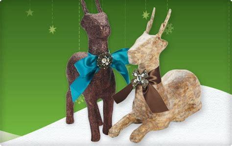 paper mache reindeer craft 17 best images about crafts paper mache on
