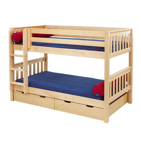 low profile bunk beds low bunk beds for decofurnish