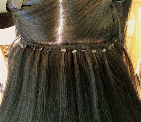 micro bead extensions for thin hair micro beaded weft hair extensions of hair extensions