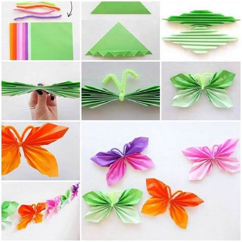 paper folding crafts easy paper folding crafts recycled things