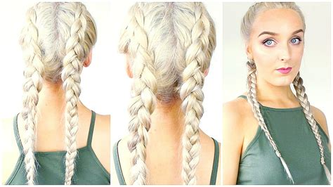 how to put on braided hair how to braid your own hair for beginners