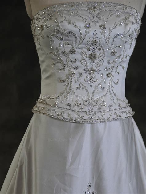 heavily beaded wedding dress heavily beaded wedding dress ginnie