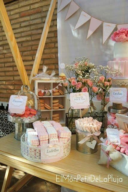 decoracion de mesas para comuniones decoraci 243 n para bautizos y comuniones mesa dulce rosa
