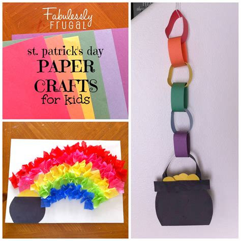 st day crafts for st s day paper crafts for