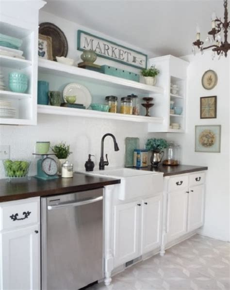 open cabinets in kitchen open kitchen shelving display tips ls plus