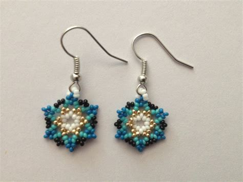 handmade beaded earrings handmade american beaded earrings