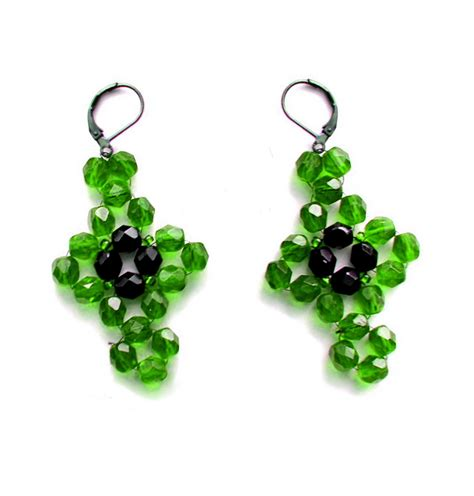 free beaded earring patterns earrings pattern