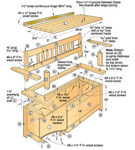 storage bench woodworking plans woodwork plans storage bench seat pdf plans