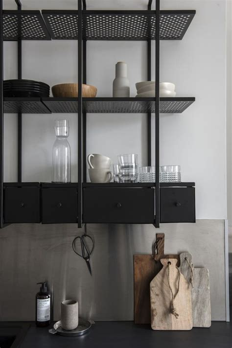 wood and metal shelves 25 best ideas about metal shelves on metal
