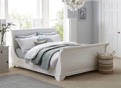beds white orleans white wooden bed frame dreams