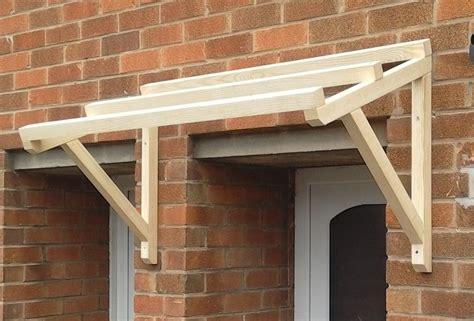Door Canopy by Door Canopys Timber Front Door Canopy Lean To Mono Pitch