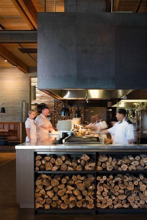 kitchen design restaurant best 25 open kitchen restaurant ideas on