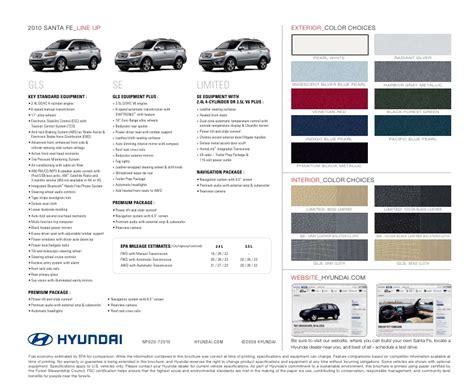 Key Hyundai Manchester Ct by 2010 Hyundai Santa Fe Brochure Key Hyundai Manchester Ct