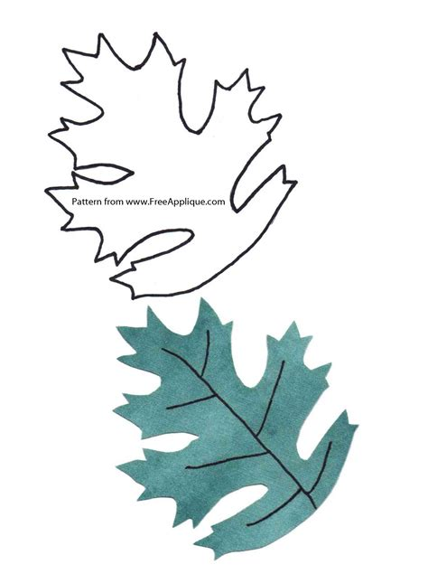 quilting crafts printable leaf patterns for applique quilting crafts or