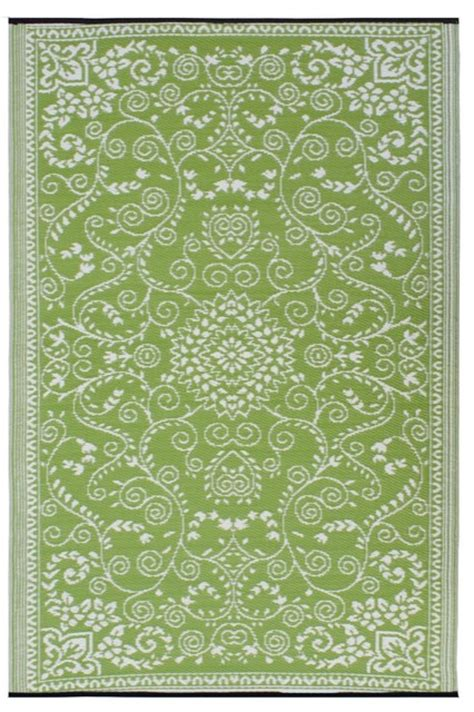 outdoor rug green fab habitat murano indoor outdoor rug lime green and