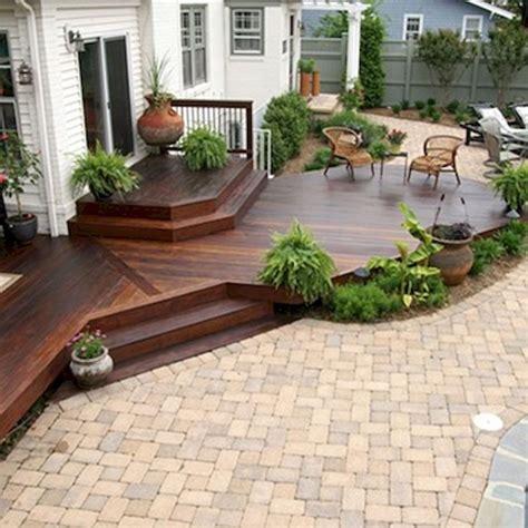 deck to patio designs best 25 deck design ideas on decks wood deck