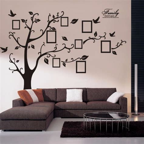 photo wall stickers family tree wall decal sticker large vinyl photo picture