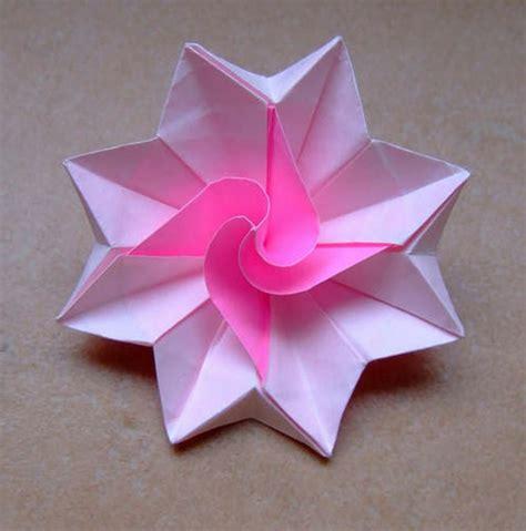 origami fr un origami facile fleur 224 offrir ou pour vous amuser