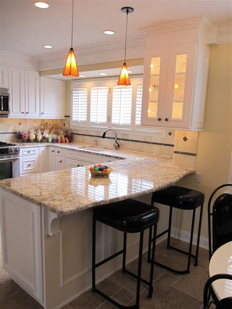 small kitchen design with peninsula wooden l shaped kitchen design ideas with granite