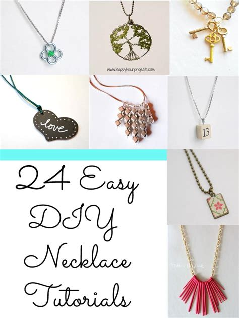 easy jewelry ideas diy necklace on jewelry jewelry