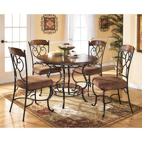 kitchen tables and benches dining sets signature design by nola 5 dining table