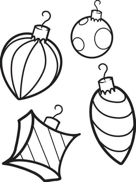 colour in decorations ornaments coloring pages wallpapers9