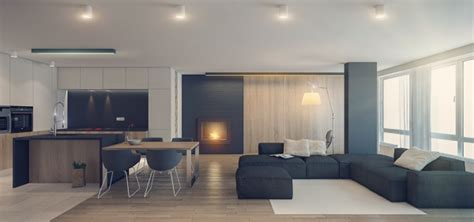 gray interior design 1st place three sleek apartments 1500 square from all in studio includes floor plans