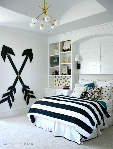 black and white decor for bedroom diy room decor black white gold and bedroom ideas
