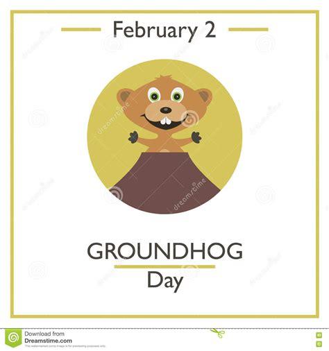 groundhog day day one lyrics woodchuck illustrations vector stock images