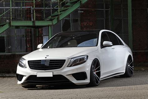 Mercedes Amg by Mercedes Amg S63 Slammed Stanced And Boosted Carscoops