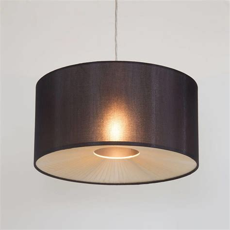 light shade ceiling small ribbon easy to fit ceiling shade drum black from