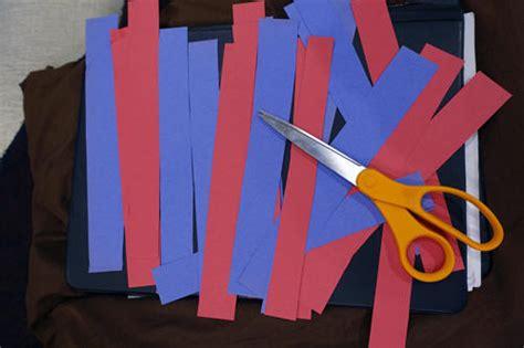 crafts using paper strips paper necktie craft