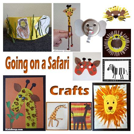 safari crafts for going on a safari crafts activities and emergent