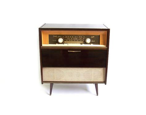 vintage stereo cabinet with turntable vintage stereo cabinet radio record player retro turntable speakers hi fi console walnut wood