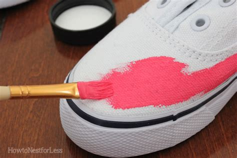 angelus paint kmart painted tennis shoes how to nest for less