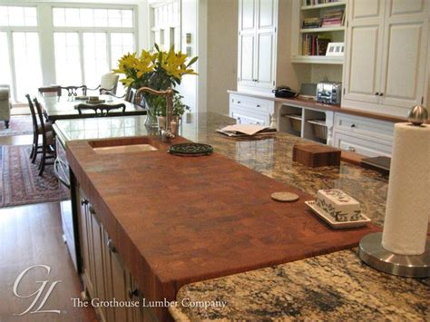 Kitchen Island Butchers Block teak butcher block countertop in savannah georgia