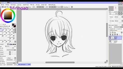 paint tool sai drawing tips minnoao s how to draw lineart neat tips and tricks on
