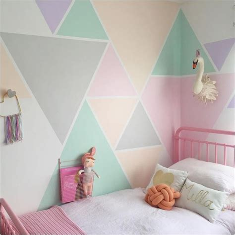 paint color for child s bedroom best 25 geometric wall ideas only on