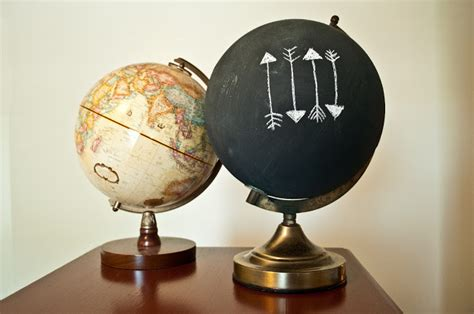 chalkboard globe diy 25 creative diy chalkboard projects upcycled treasures