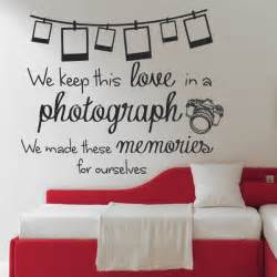 bedroom walls lyrics ed sheeran photograph lyrics wall sticker